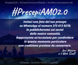 Conserviamo la bella tradizione del presepe: #PresepiaAMO2.0